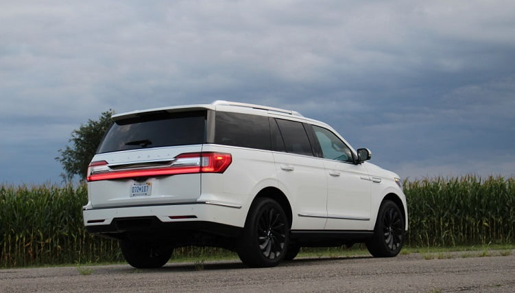 large suv - lincoln - 2021