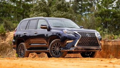 Lexus GX - midsize - luxury suv
